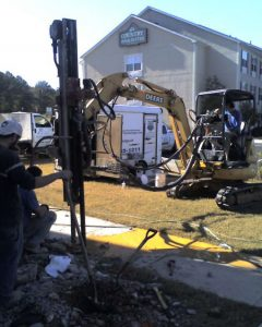 compaction grouting drilling
