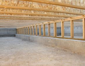 basement after crawlspace conversion