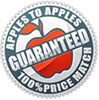 apples to apples price match