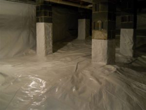 Crawl Space Encapsulation Cost Marietta GA